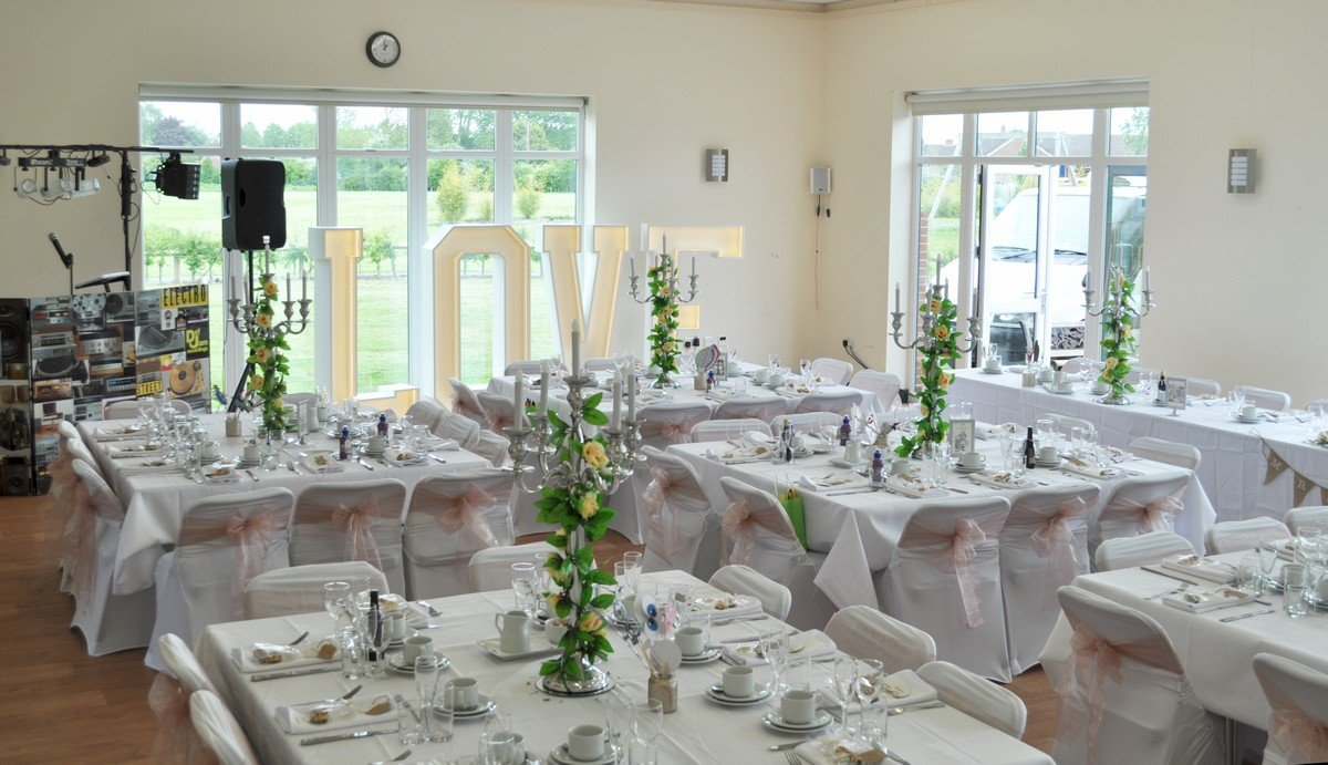 New Village Hall wedding layout
